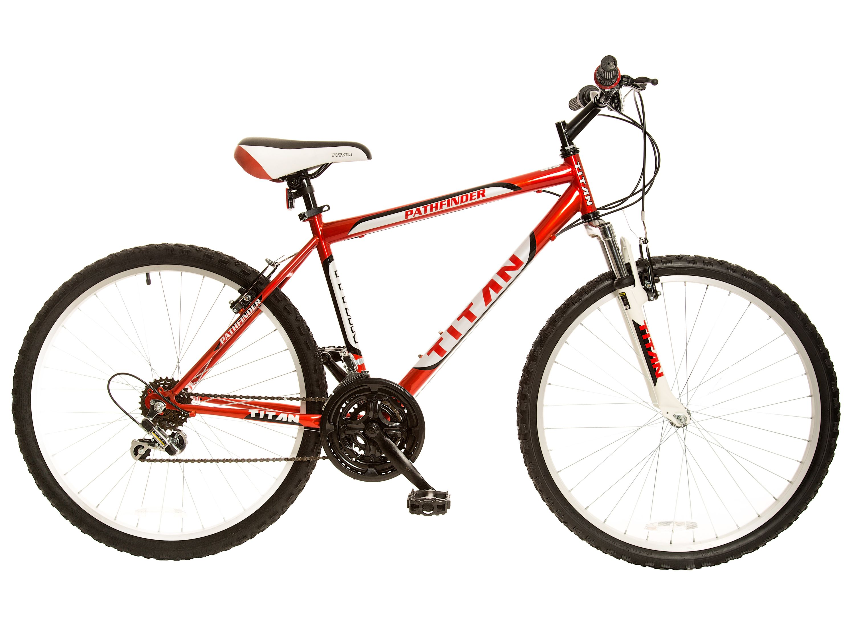 "Titan Pathfinder 26"" Men's Steel ATB 18 Speed All Terrain Bicycle"