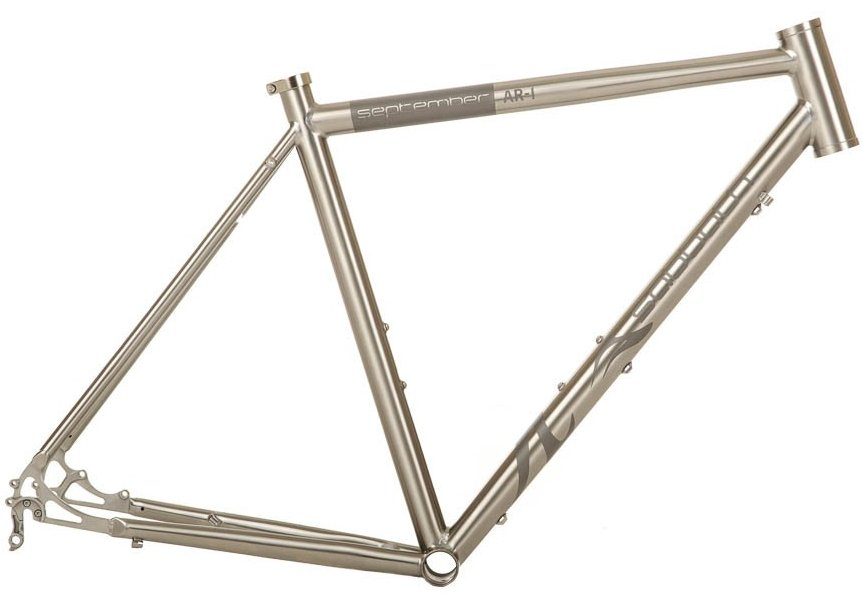 Sabbath September AR-1 DISC Titanium Touring and Road Frame