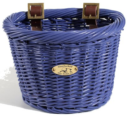 Nantucket Bike Baskets Gull Collection For a Child's Bike Blue