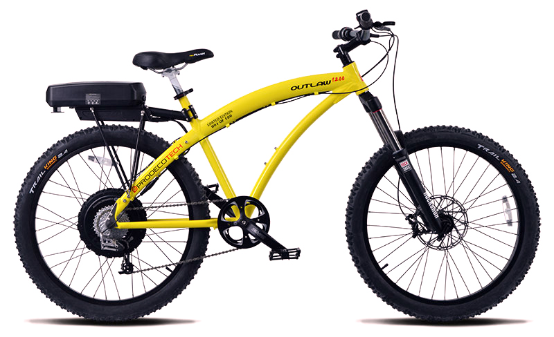 Prodeco Outlaw 1200 V4 48V 1200W 9 Speed 12Ah Electric Bike