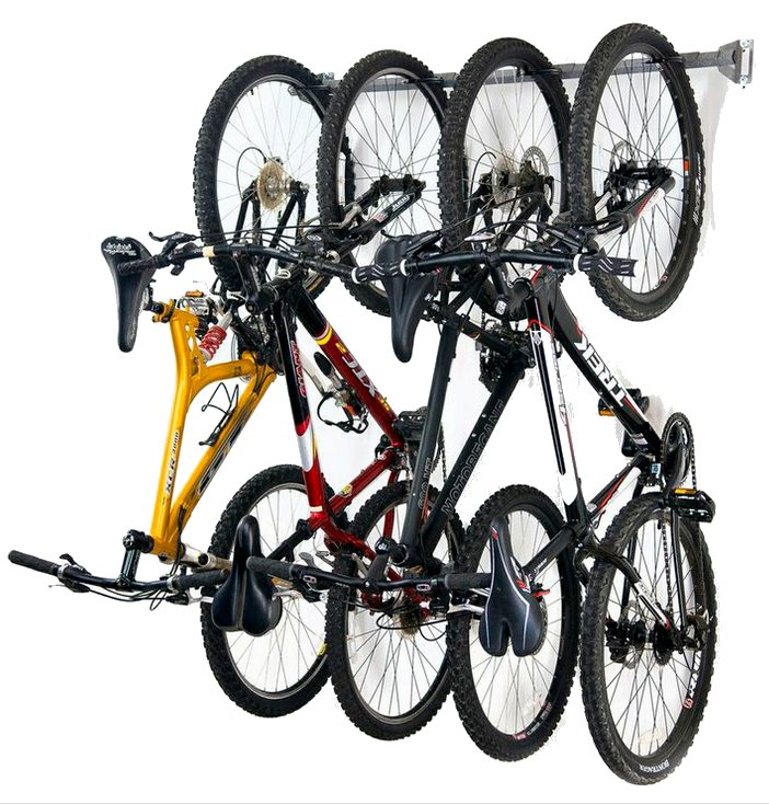 Monkey Bars 4 Bike Wall Rack