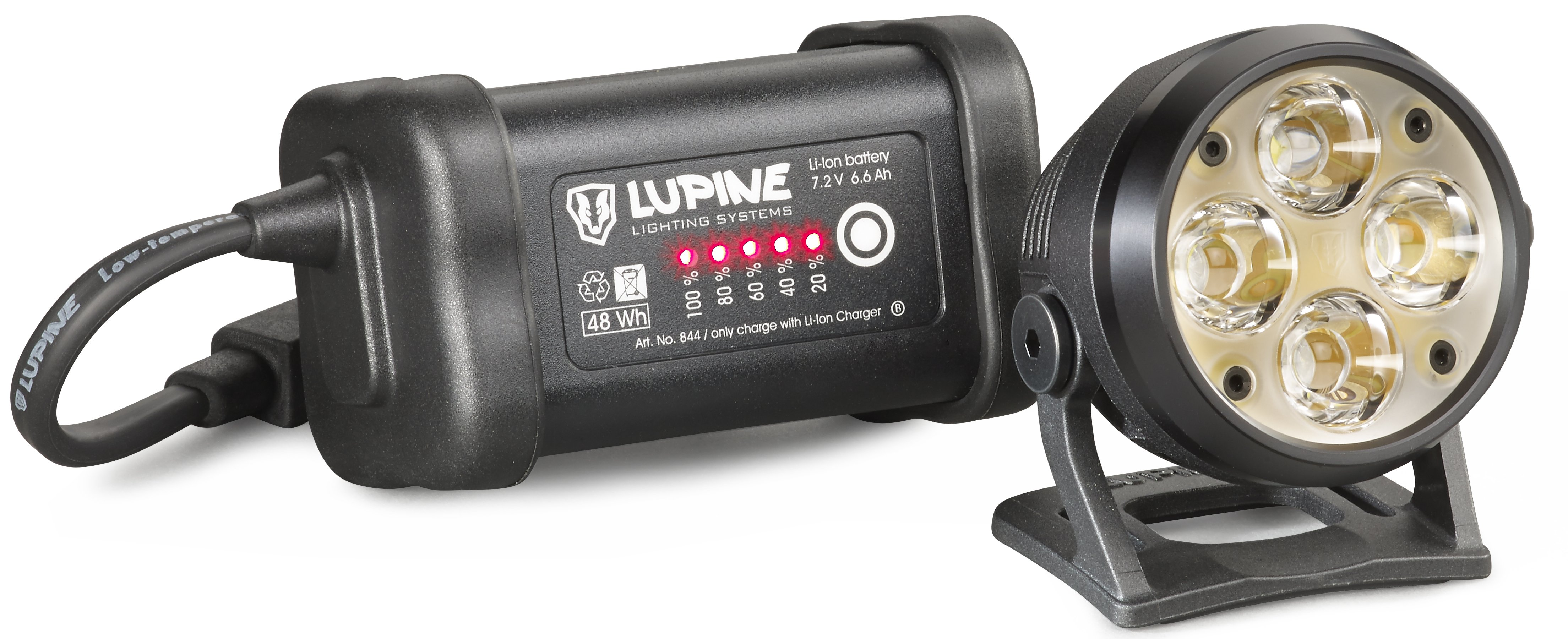 Lupine Wilma 7 Bicycle SmartCore Lighting System 3200 Lumens
