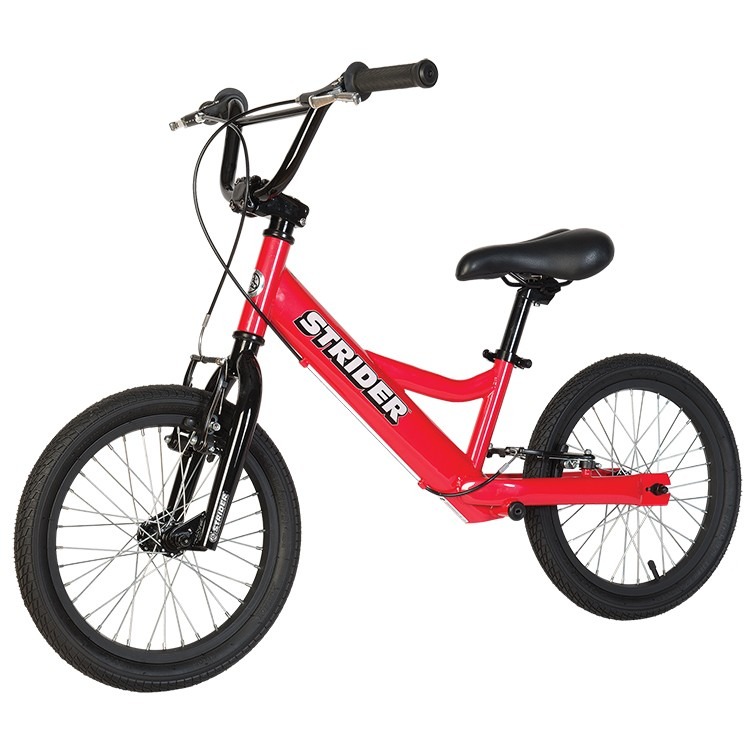 "Strider 16"" Sport No Pedal Balance Bike Red"