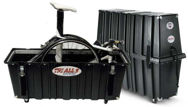 Tri All 3 Sports Velo Safe Pro Series ISP Bike Case