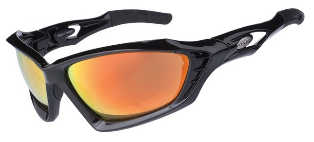 Limar F60 Polycarbonate Cycling Sunglasses Glossy Black