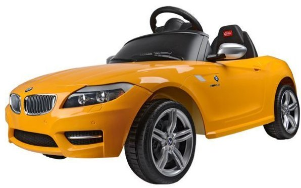 Best Ride On Cars BMW Z 4 6V Yellow