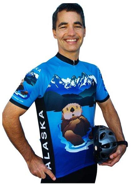 Alaska Otter Cycling Jersey