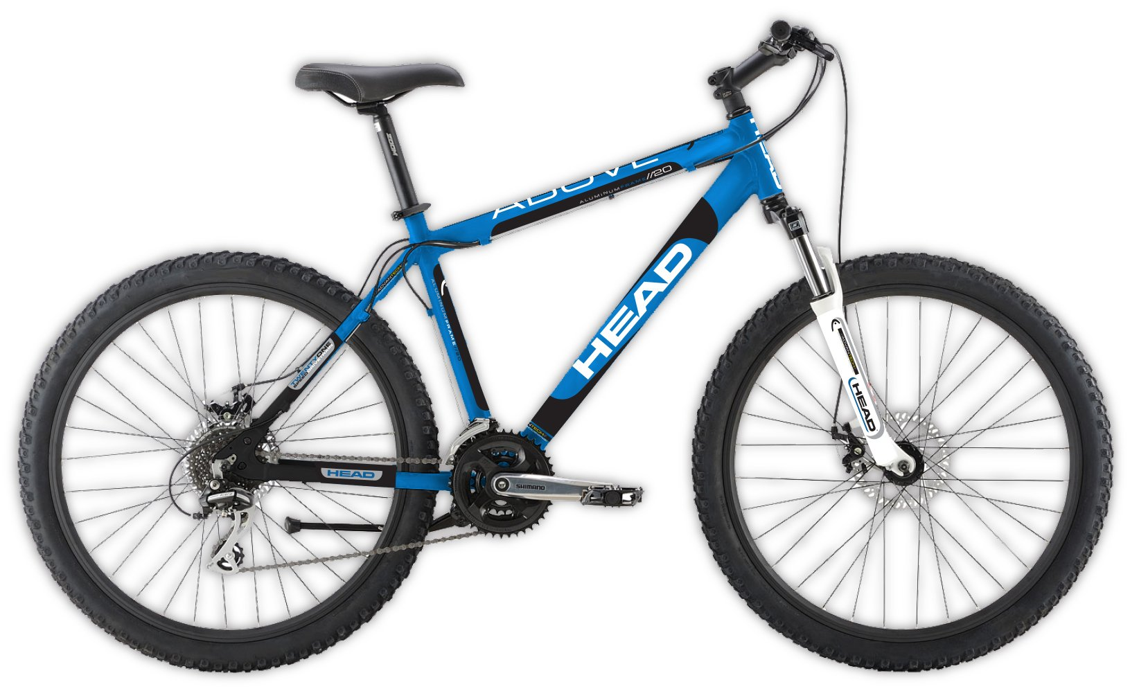 "HEAD Above B20 20"" Boys 21 Speed Mountain Bike Blue 10"" Frame"