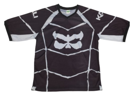 KALI Chada F MTB 3/4 sleeve Jersey Black Large
