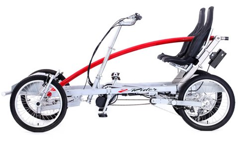 Pacific Cycle 2Rider DELUXE 8 Speed Quadcycle