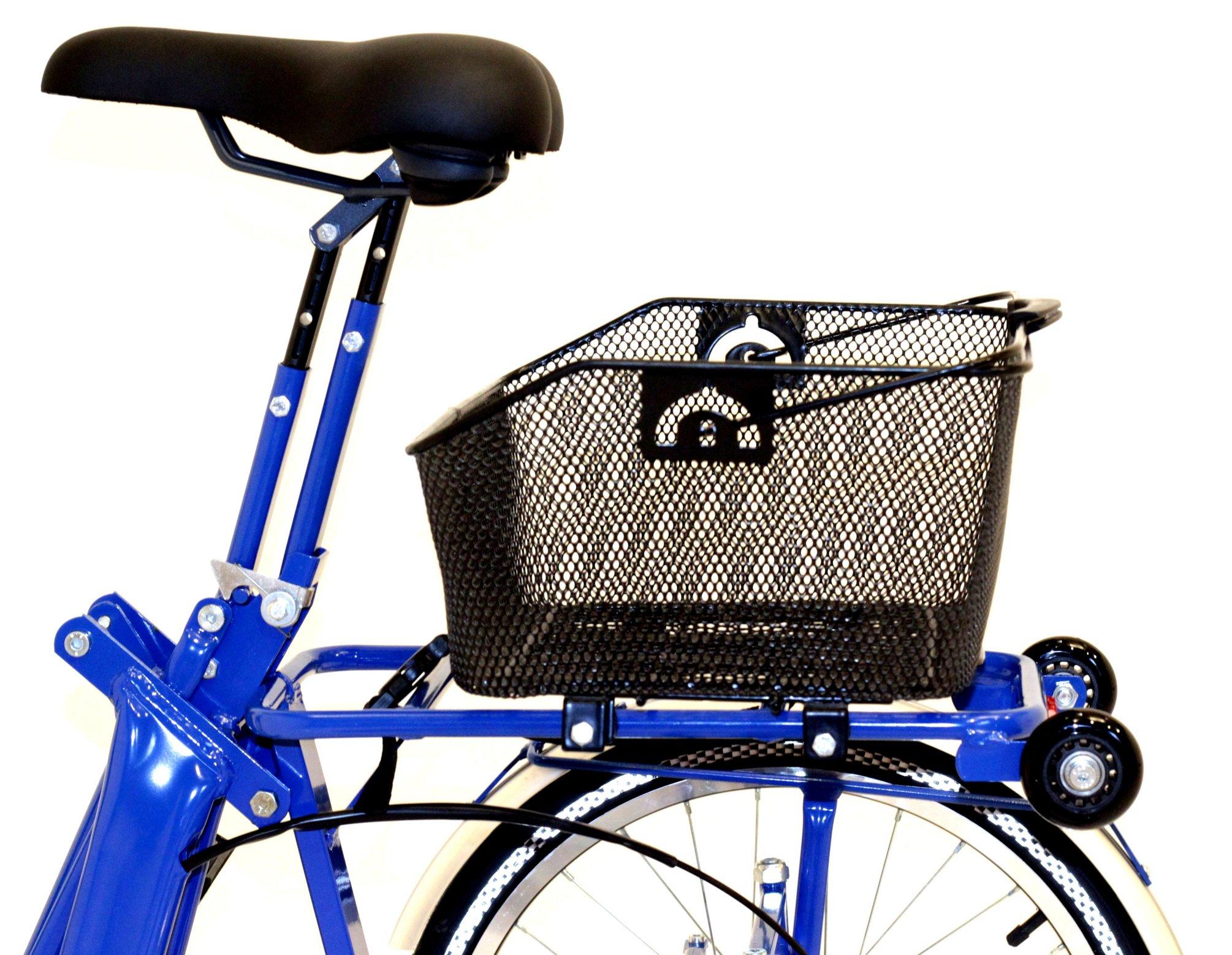 Di blasi r34 folding 5 speed electric italian tricycle