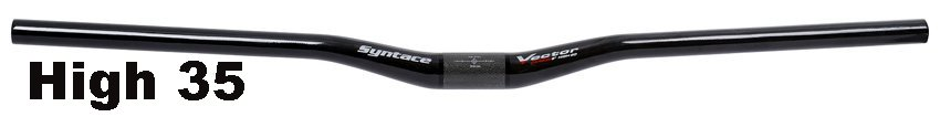 Syntace Vector Carbon High Handlebar 31.8
