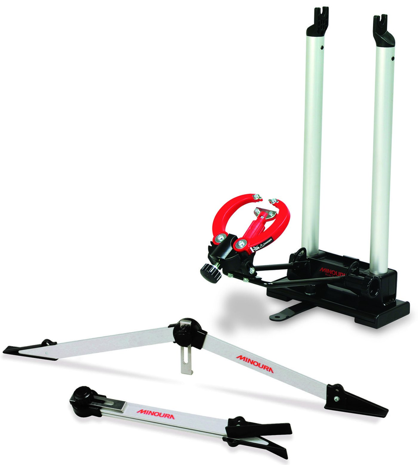 Minoura FT 1 Portable Wheel Truing Stand and Dishing Tool Combo