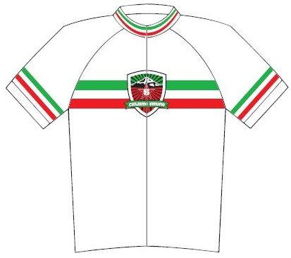 Ciclismo Stelvio Logo Cycling Jersey Large