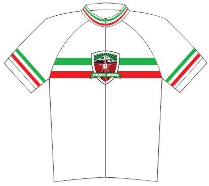 Ciclismo Stelvio Logo Cycling Jersey Small