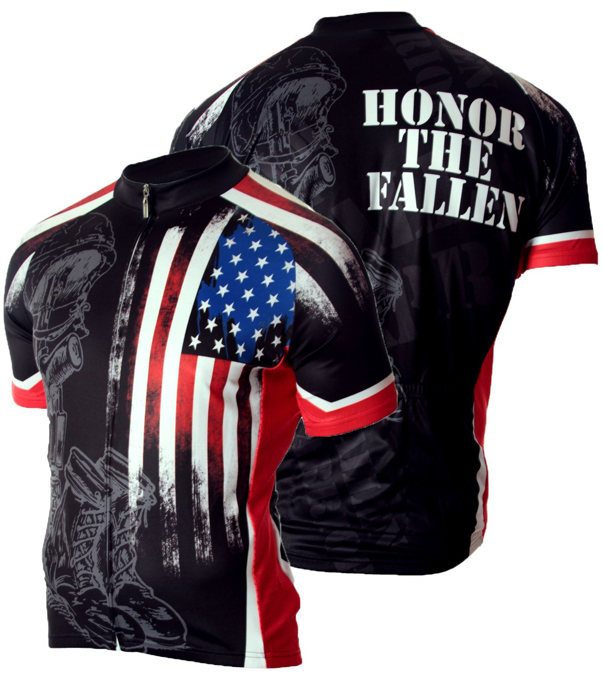 83 Sportswear Fallen Warrior Cycling Jersey