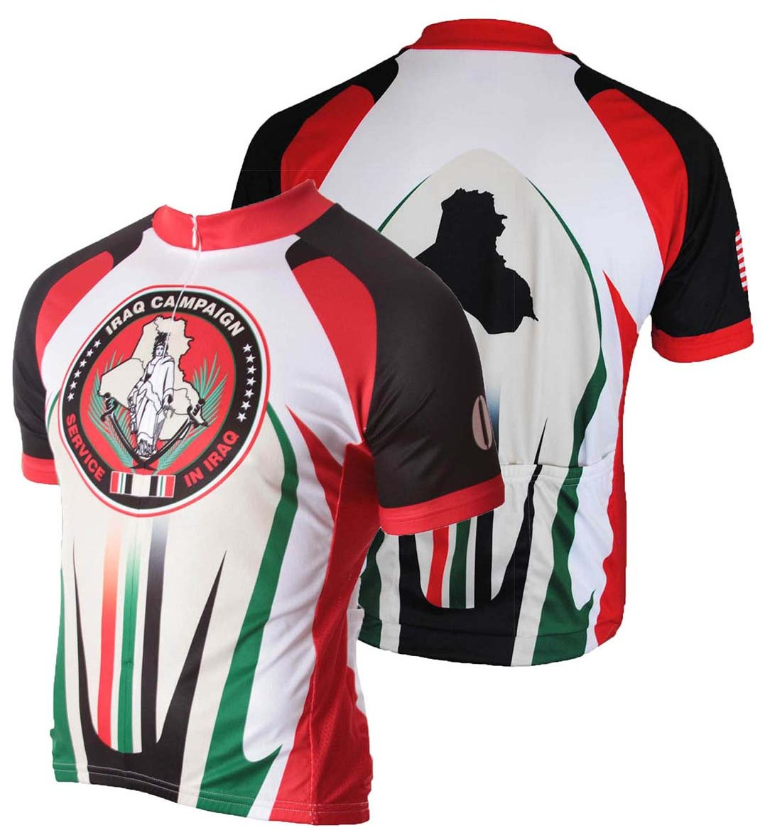 83 Sportswear Iraq OIF Cycling Jersey