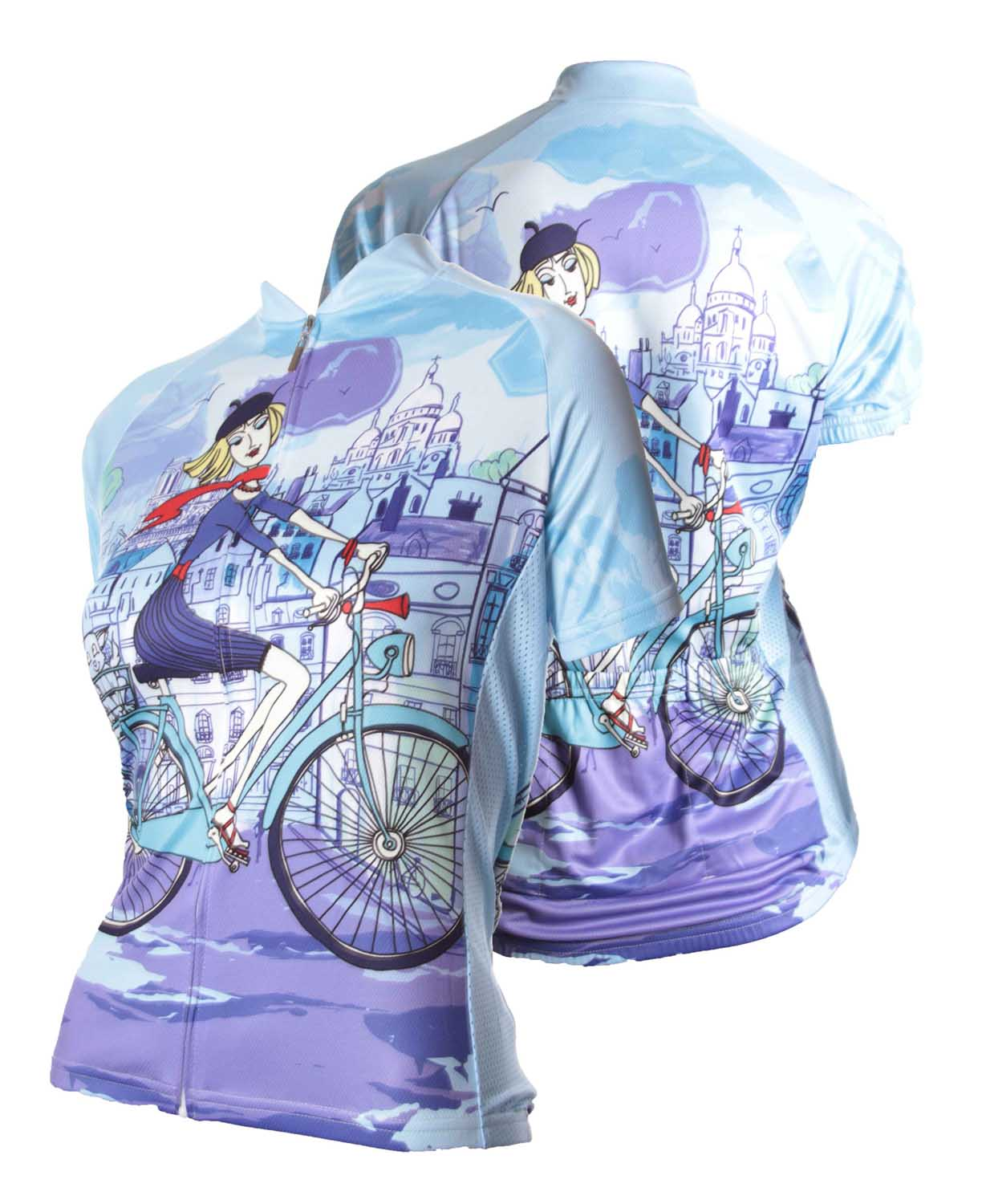 83 Sportswear Riding in Paris Woman's Cycling Jersey