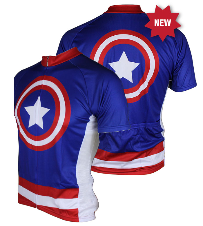 83 Sportswear Super Hero Cycling Jersey