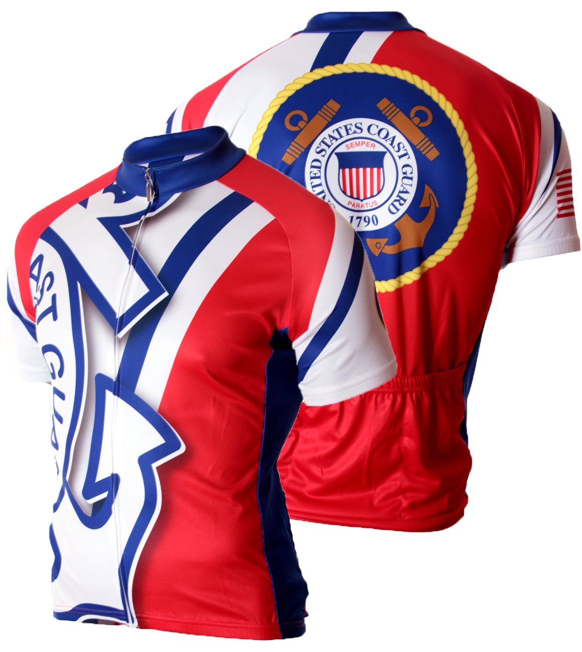 83 Sportswear US Coast Guard Cycling Jersey