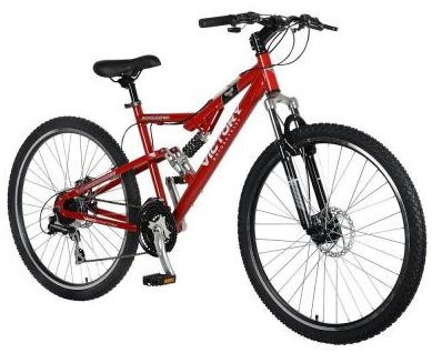 Victory Jackpot 650B Dual Suspension Mens 24 Speed Mountain Bike