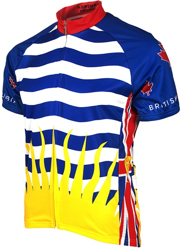 British Columbia Cycling Jersey