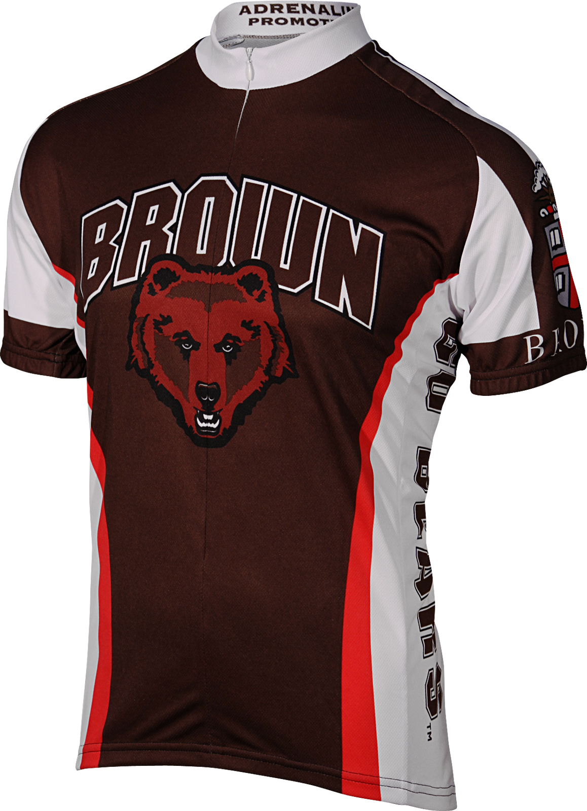 Brown University Brown Bear Cycling Jersey