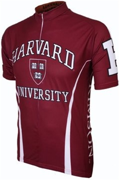 Harvard University Crimson Cycling Jersey