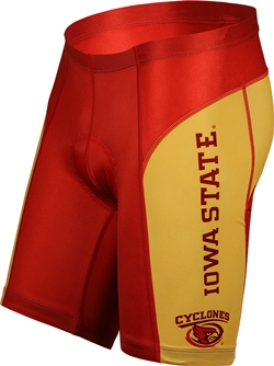 Iowa State University Cyclones Cycling Shorts