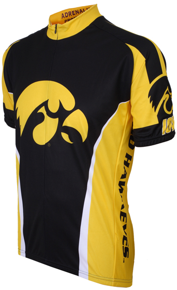 Iowa University Hawkeyes Cycling Jersey