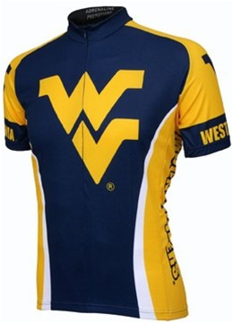 West Virginia University Mountaineers Cycling Jersey