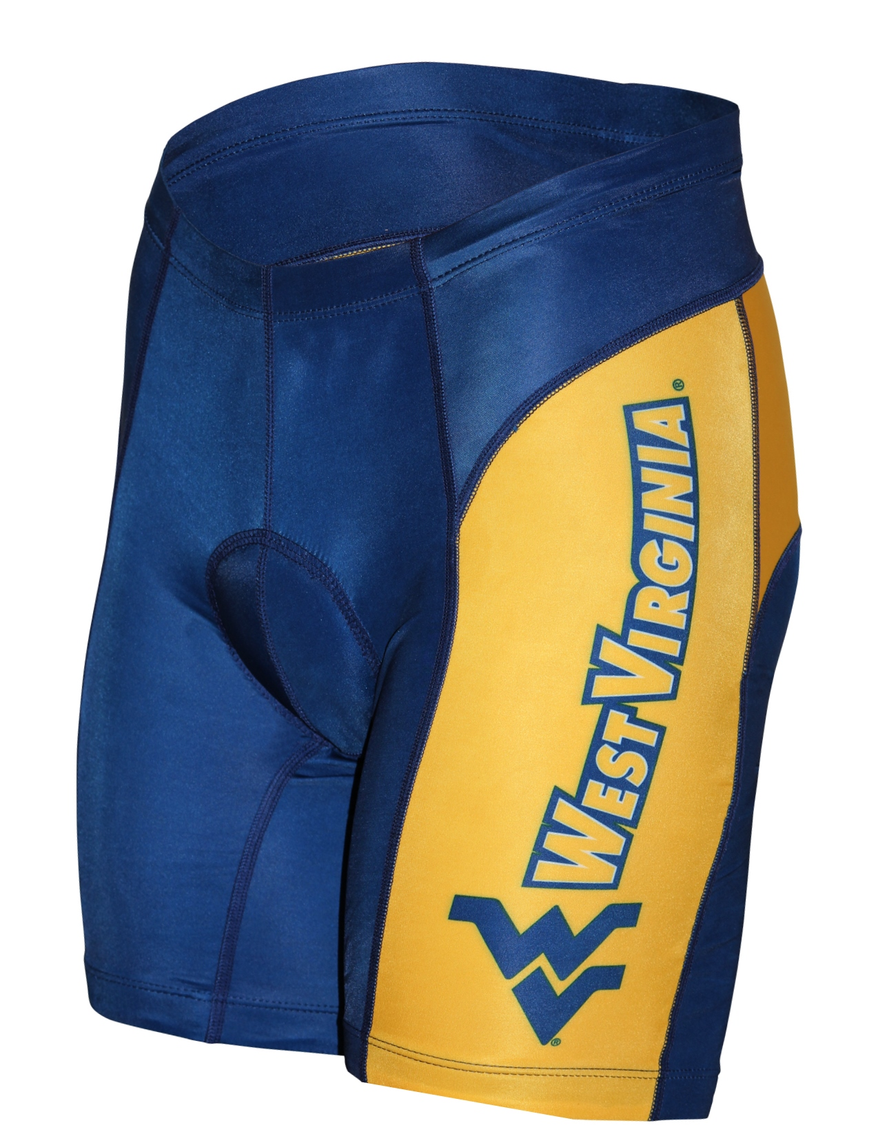 West Virginia University Mountaineers Cycling Shorts