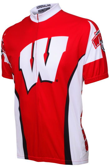 University of Wisconsin Badgers Cycling Jersey