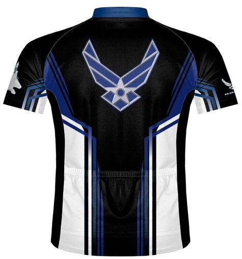Primal Wear Team Air Force Cycling Jersey Large