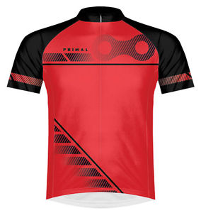 Primal Wear Aidan Red Cycling Jersey Primal Wear Small