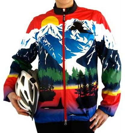 Alaska Red Coastal Cycling Jacket