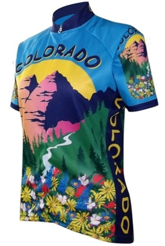 Colorado Womens Cycling Jersey