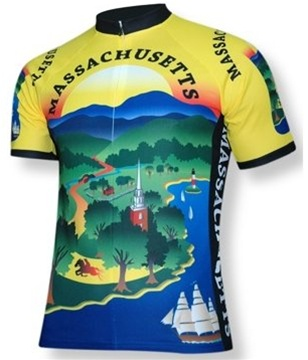 Massachusetts Cycling Jersey