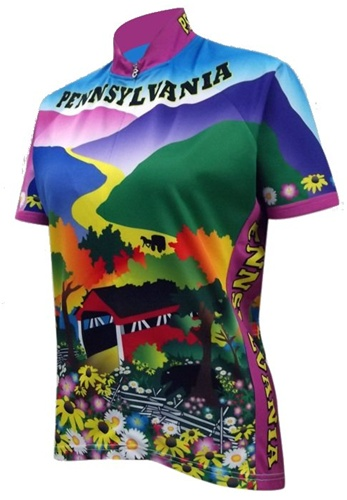 Pennsylvania Women's Cycling Jersey