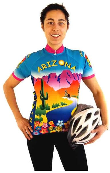 Arizona Womens Cycling Jersey