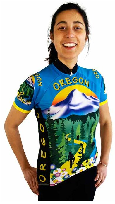 Oregon Women's Cycling Jersey