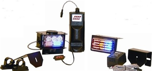 Alerte Trail Blazer IV LED Police Bike Light & Hi Low Siren System