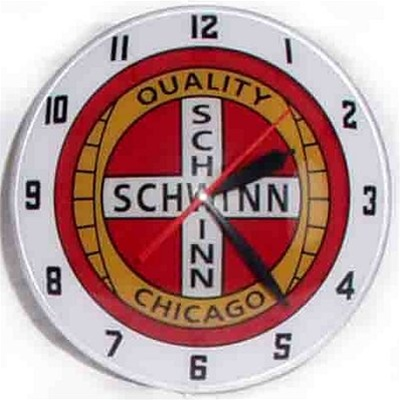 Schwinn Bicycles Limited Edition Bubble Clock
