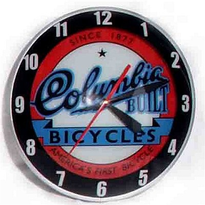 Columbia Bicycles Limited Edition Bubble Clock