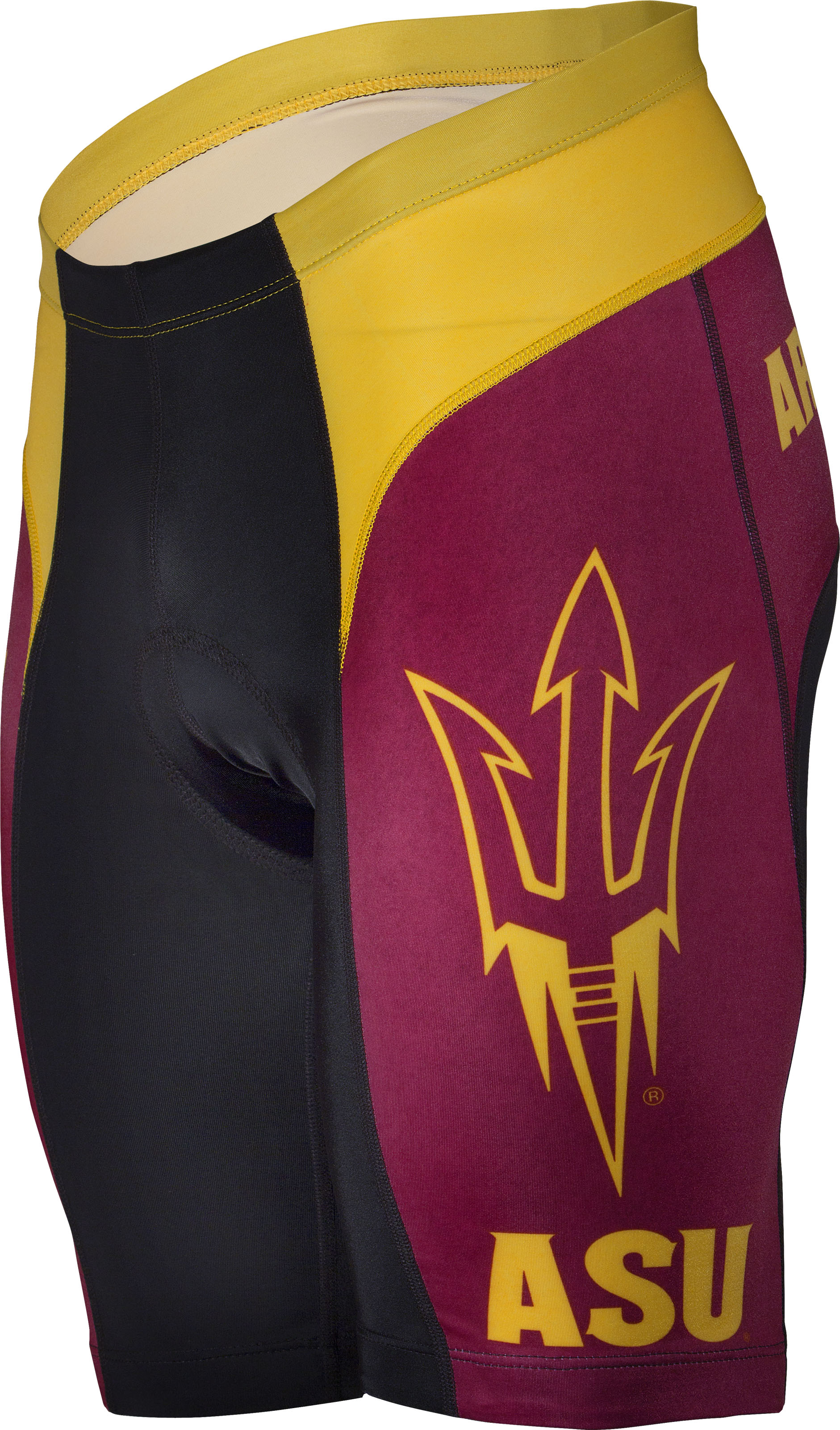 Arizona State University ASU Sun Devils Cycling Shorts Medium
