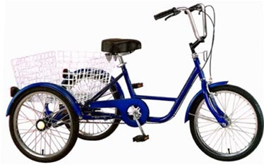 Tri Rider 20 Adult 6 Speed Tricycle