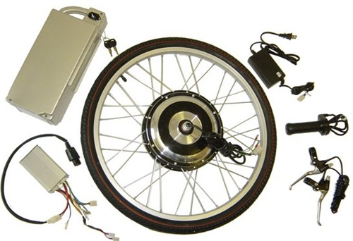 E Ped 500W SLA 36V 12Ah Electric Hub Motor Kit For Bikes and Trikes