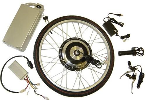 E ped 500 w sla 36v electric hub motor kit for bikes trikes for Little motors for bicycles