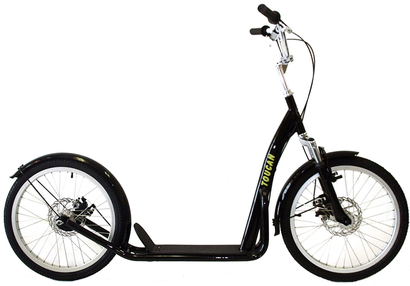 """Electric Bikes For Sale >> Toucan 20"""" Suspension Kick Bike Scooter"""