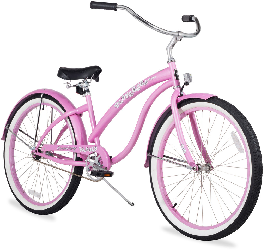 "Firmstrong 26"" Women's Bella Classic Single Speed Cruiser Bike"